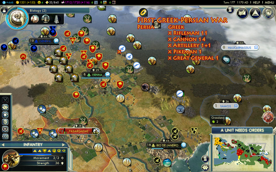 Civilization V: Persia Guide - Darius I - Altered Gamer